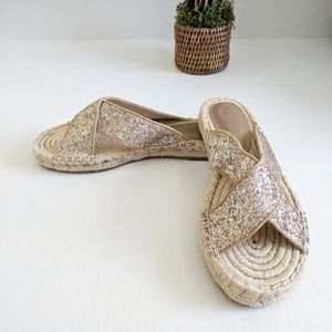 Like New Joie Ianna Espadrille Side Sandals 10